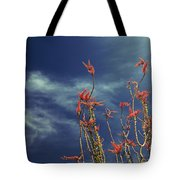 Like Flying Amongst The Clouds Tote Bag by Laurie Search