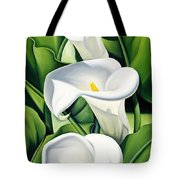 Lilies Tote Bag by Catherine Abel