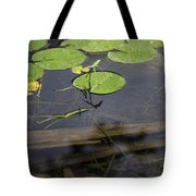 Lilly Pad Tote Bag by John McGraw