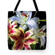 Lily bouquet Tote Bag by Garry Gay