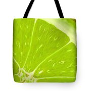 Lime Tote Bag by Anastasiya Malakhova