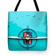 Lincoln Continental Rear Emblem Tote Bag by Jill Reger