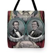Lincoln Johnson Campaign Poster Tote Bag by Marvin Blaine