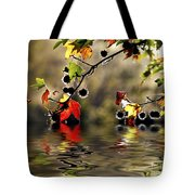 Liquidambar In Flood Tote Bag by Avalon Fine Art Photography