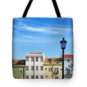 Lisbon Houses Tote Bag by Carlos Caetano