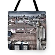 Lisbon Rooftops I Tote Bag by Marco Oliveira