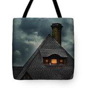 Lit Attic Window Tote Bag by Jill Battaglia