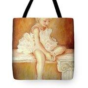 Little Ballerina Tote Bag by Carole Spandau