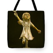 Little Bear Dancer Tote Bag by Barb Maul