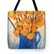 Little Blue Jug Tote Bag by Sherry Harradence