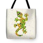 Little Lizard - Animal Art Tote Bag by Anastasiya Malakhova