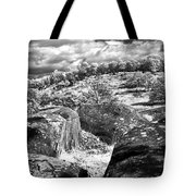 Little Roundtop Overlooking Devils Den Tote Bag by Paul W Faust -  Impressions of Light