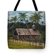 Little Stone Church Tote Bag by Darice Machel McGuire