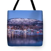 Little Town Of Camden Tote Bag by Susan Cole Kelly