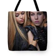 Liuda And Coral 1 Tote Bag by Yhun Suarez