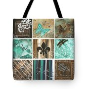 Live And Love By Madart Tote Bag by Megan Duncanson