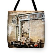 Live Bait Tote Bag by Marty Koch