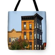 Living In Chicago Lincoln Park Tote Bag by Christine Till