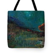 Living On The Edge Tote Bag by Frances Marino