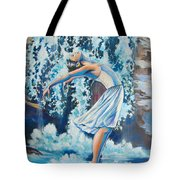 Living Water Scripture Tote Bag by Tamer and Cindy Elsharouni