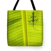 Lizard Leaf Tote Bag by Tim Gainey