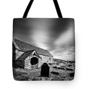 Llangelynnin Church Tote Bag by Dave Bowman