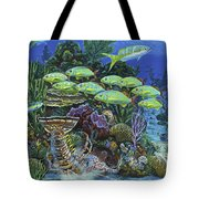 Lobster Feast Re0019 Tote Bag by Carey Chen