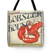 Lobster House Tote Bag by Debbie DeWitt