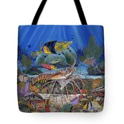 Lobster Sanctuary Re0016 Tote Bag by Carey Chen