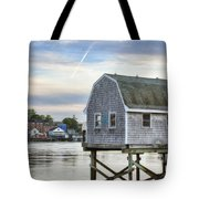 Lobster Shack Tote Bag by Eric Gendron