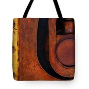 Lock Down Tote Bag by Skip Hunt