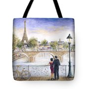 Locked In Love Tote Bag by Marilyn Dunlap