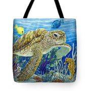 Logging Sea Time Tote Bag by Danielle  Perry