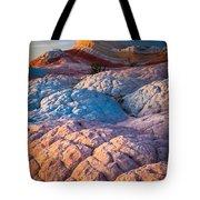 Lollipop Sunset Tote Bag by Inge Johnsson
