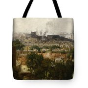 London And The Thames From Greenwich Tote Bag by John Auld