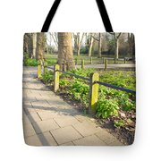 London park Tote Bag by Tom Gowanlock