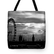 London Silhouette Tote Bag by Jorge Maia
