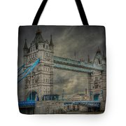 London Tower Bridge Tote Bag by Erik Brede