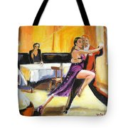 Lone Audience Tote Bag by Judy Kay