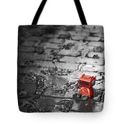 Lonely Little Robot Tote Bag by Scott Norris