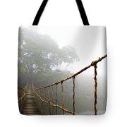 Long Rope Bridge Tote Bag by Skip Nall