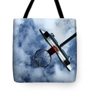 long shot Tote Bag by Tom Druin