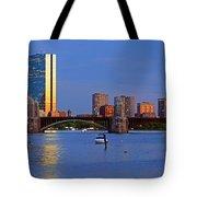 Longfellow Bridge Tote Bag by Joann Vitali