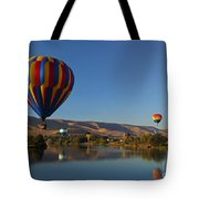 Looking For A Place To Land Tote Bag by Mike  Dawson