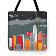 Los Angeles Tote Bag by Karen Young