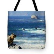 Lost At Sea Tote Bag by Karen Wiles