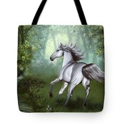 Lost In The Forest Tote Bag by Kate Black