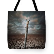 Lost Sword Tote Bag by Carlos Caetano