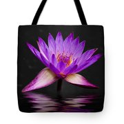Lotus Tote Bag by Adam Romanowicz