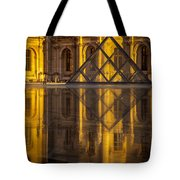 Louvre Sunset Tote Bag by Brian Jannsen